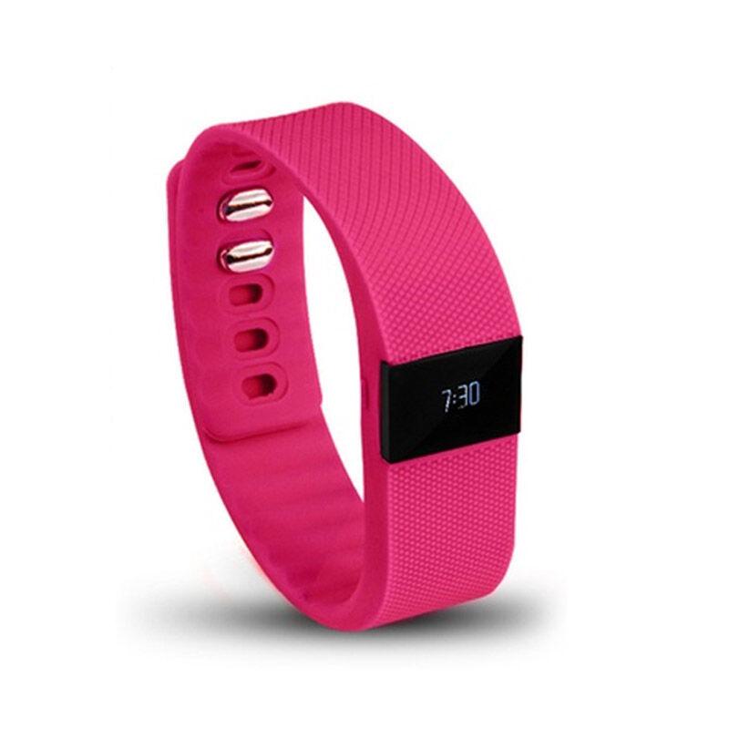 Aquarius Ρολόι Fitness Tracker Aquarius με Bluetooth Χρώματος Ροζ R123813