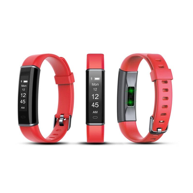 Aquarius Ρολόι Fitness Tracker Aquarius AQ113 με Μετρητή Καρδιακών Παλμών Χρώματος Κόκκινο R166165