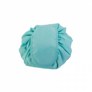 SPM Αναδιπλούμενη Τσάντα Καλλυντικών με Κορδόνι Χρώματος Μπλε SPM VL3153