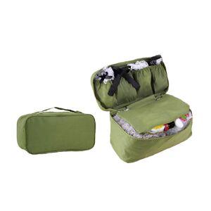 SPM Τσάντα Αποθήκευσης Εσωρούχων Ταξιδίου Χρώματος Πράσινο SPM UndiesCosmOrg-GREEN