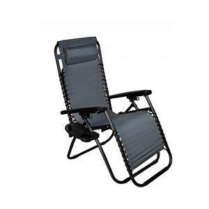 Malatec Μεταλλική Πτυσσόμενη Καρέκλα Κήπου - Ξαπλώστρα 80 x 52 x 110 cm Malatec 10047