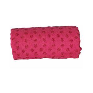 Hoppline Πετσέτα Γιόγκα με Θήκη Μεταφοράς Χρώματος Ροζ Hoppline HOP1000973-2
