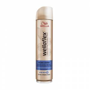 WELLA FLEX Wellaflex Volume & Repair Ultra Strong Hold Hairspray 250ml