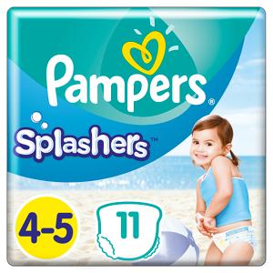 P&G Πάνες-Μαγιό Pampers Splashers Μέγεθος 4-5 (9-15 kg) (11τεμ)