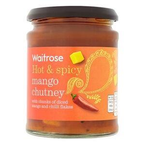 Waitrose Σάλτσα Chutney Μάνγκο Καυτερή & Πικάντικη Waitrose (320gr)