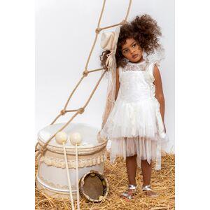 "Baby u Rock Βαπτιστικό Φόρεμα ""Colombina"" 22002G12AAC"