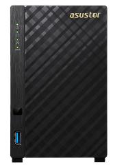 ASUSTOR NAS AS3102Tv2, DT, 2 BAYS, INTEL CELERON J3060 1.6GHz DC(burst 2.16GHz), 2GB, 3xUSB3.0, GbEx2, HDMI 1.4b, WoL, 3YW. - Πληρωμή και σε έως 6 δόσεις