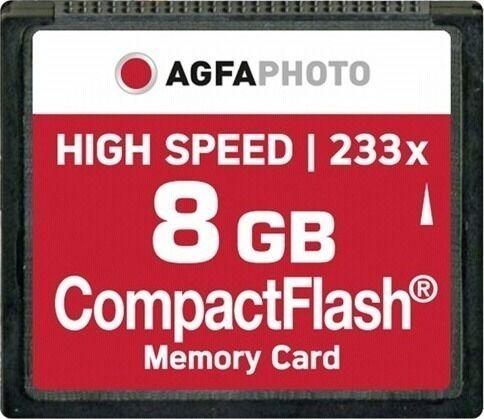 AgfaPhoto Compact Flash   8GB High Speed 233x MLC   10433 - Πληρωμή και σε έως 6 δόσεις