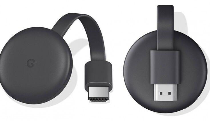 Google Chromecast 3 (GA00439-DE) - Πληρωμή και σε έως 6 δόσεις