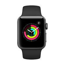 Apple Watch Series 3 GPS 42mm Grey Alu Black Sport Band   MTF32ZD/A - Πληρωμή και σε έως 6 δόσεις