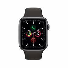 Apple Watch Series 5 GPS 44mm Gray Alu Case Black Sport Band   MWVF2FD/A - Πληρωμή και σε έως 6 δόσεις