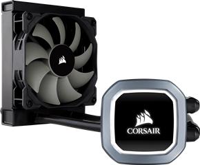 Corsair HYDRO COOLER H60 CW-9060036-WW, INTEL LGA2066/2011/1150/1151/1155/1156/1366, AMD AM4/AM3/AM2, 5YW. - Πληρωμή και σε έως 6 δόσεις