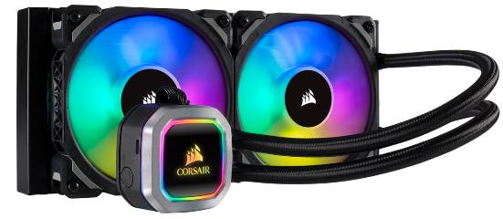 Corsair HYDRO COOLER H100i RGB PLATINUM CW-9060039-WW, INTEL 115x, INTEL 2011/2066, AMD AM3/AM2/AM4/TR4, 5YW. - Πληρωμή και σε έως 6 δόσεις