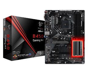 ASRock MB B450 GAMING K4 FATAL1TY, SOCKET AMD AM4, CS AMD B450, 4 DIMM SOCKETS DDR4, D-SUB/DISPLAY PORT/HDMI, LAN GIGABIT, ATX, 2YW. - Πληρωμή και σε έως 6 δόσεις
