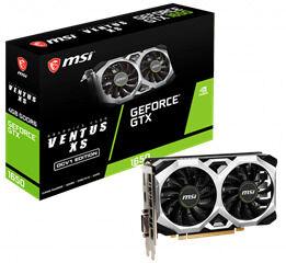 MSI VGA PCI-E NVIDIA GF GTX 1650 D6 VENTUS XS 4G OCV1, 4GB/128BIT, GDDR5, DL DVI-D/HDMI/DISPLAY PORT, 2 SLOT FANSINK, 3YW. - Πληρωμή και σε έως 6 δόσεις