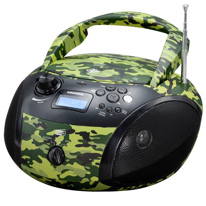 Grundig GRB 4000 BT camouflage   GPR1170 - Πληρωμή και σε έως 6 δόσεις
