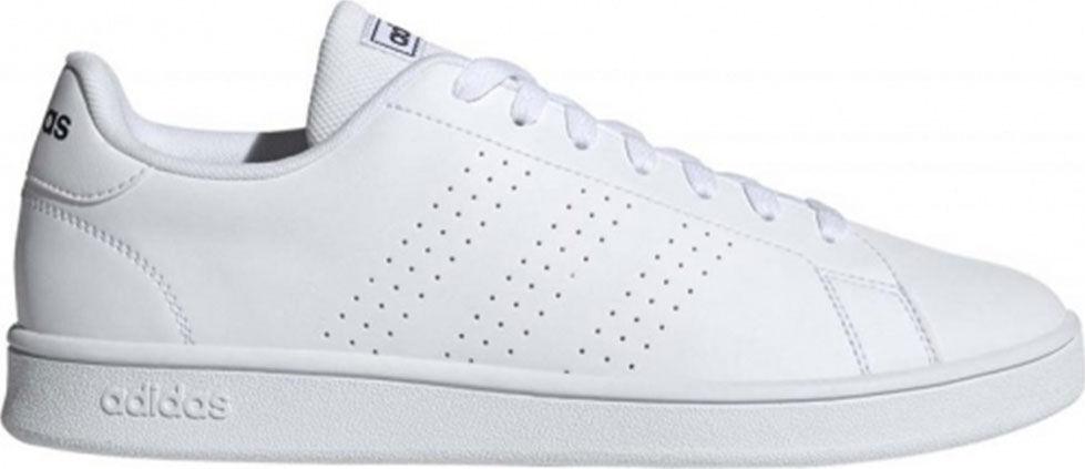 Adidas Advantage Sneakers Ανδρικά Παπούτσια λευκό EE7691  - Λευκό - Size: 40 2/3, 42, 42 2/3, 43 1/3