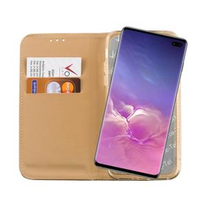 VOLTE-TEL Θήκη Samsung S10 Plus 6.4 inch Pocket Magnet Book Stand Gold