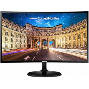 "Samsung Οθόνη LC27F390 27"" Full HD Curved, Super Slim, Curved 1800R, Wide-view VA Panel, AMD FreeSync™"