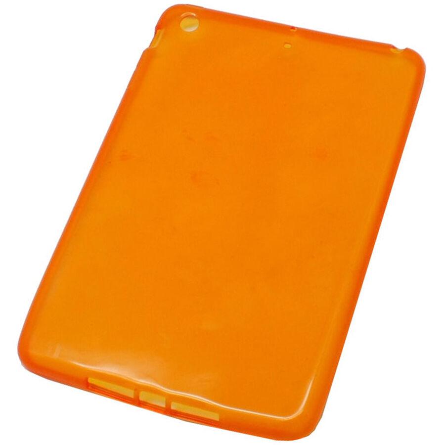 OEM ΘΗΚΗ IPAD MINI ΣΙΛΙΚΟΝΗΣ TPU (frost - πορτοκαλί)