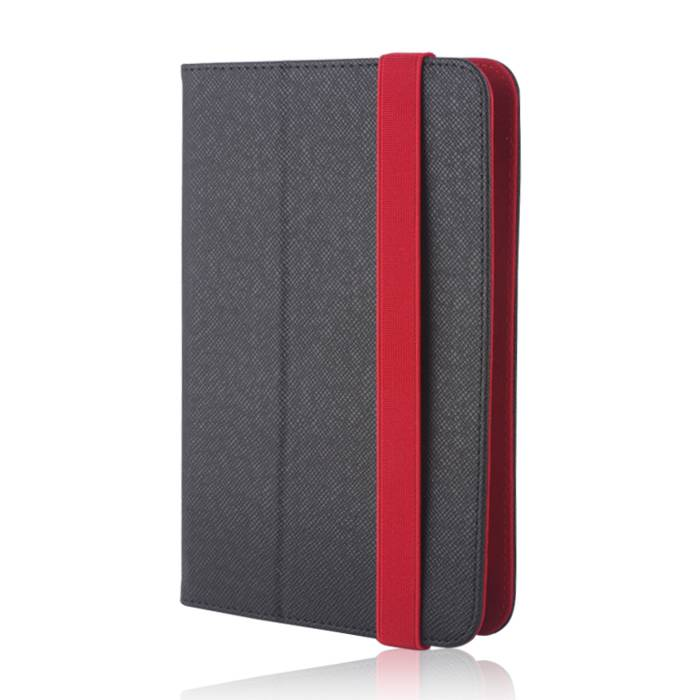 Universal case Orbi for tablet 7-8 inches black-red