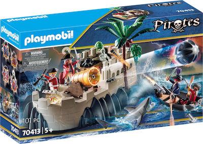 Playmobil Pirates: Μικρό Οχυρό Λιμενοφυλάκων 70413