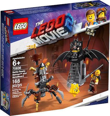 Lego MOVIE: BATTLE-READY BATMAN AND METALBEARD 70836