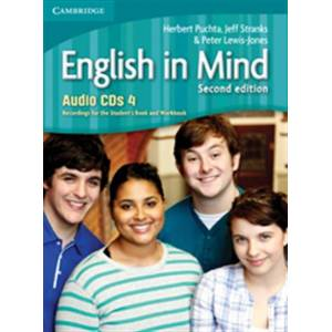 CAMBRIDGE ENGLISH IN MIND 4 CD CLASS (4) 2ND EDITION