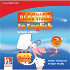 CAMBRIDGE PLAYWAY TO ENGLISH 2 CLASS CDs (3)