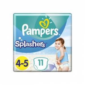 Pampers Πάνες -Μαγιό Splashers (11τεμ) Μέγεθος 4-5 (9-15kg)