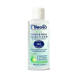 L`Ymolà Mild Hand & Nail Sanitizer - Ήπιο Αντισηπτικό Gel Χεριών & Νυχιών 100ml