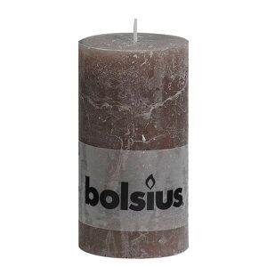 Bolsius 6 x  Falusias Oszlop Gyertya 130 x 68 mm Tópszínű