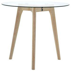 vidaXL 2 db edzett üveg kisasztal