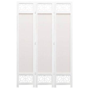 vidaXL krémszínű 3-paneles szövetparaván 105 x 165 cm