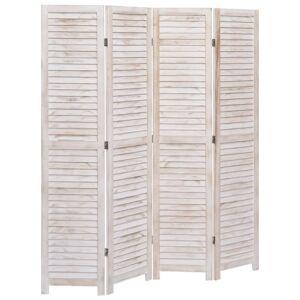 vidaXL 4-paneles faparaván 140 x 165 cm