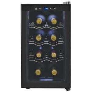 vidaXL borhűtő LDC kijelzővel 25 l, 8 palack számára
