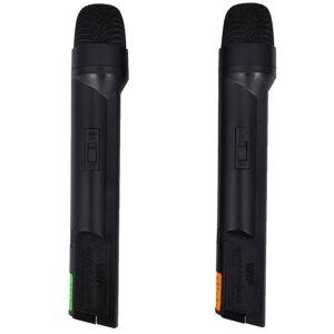 vidaXL Vevőkészülék 2 Vezeték Nélküli Mikrofonok VHF