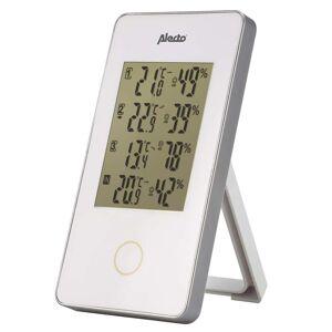 Alecto fehér vezeték nélküli meteorológiai állomás 3 érzékelővel