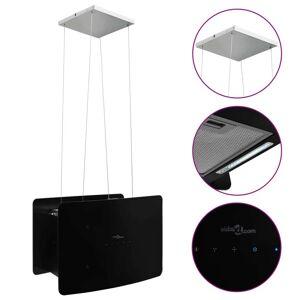 vidaXL edzett üveg LCD érintőképernyős sziget páraelszívó
