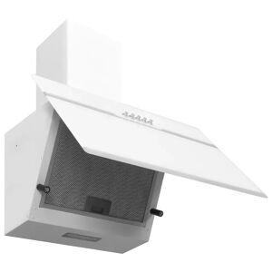 vidaXL fehér rozsdamentes acél és edzett üveg fali páraelszívó 60 cm