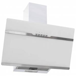 vidaXL rozsdamentes acél és edzett üveg RGB páraelszívó LED-del 60 cm