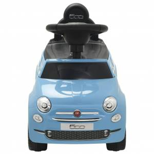 vidaXL kék ráülős Fiat 500 játékautó