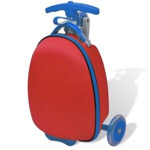 vidaXL roller elől rögzíthető piros táskával gyermekek számára
