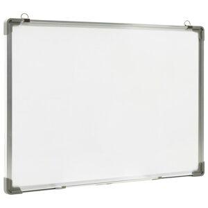 vidaXL szárazon letörölhető fehér acél mágnestábla 90 x 60 cm