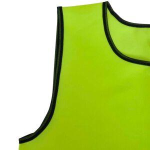 vidaXL 10 db Sárga Sport Vállpántos Felső Felnőtteknek