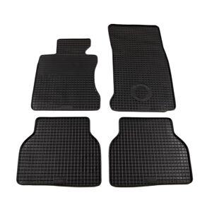 vidaXL 4 darabos BMW 5-ös sorozat (E60) gumi autószőnyeg-készlet