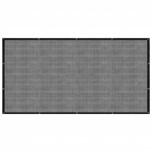 vidaXL fekete HDPE pótkocsiháló 2,5 x 3,5 m