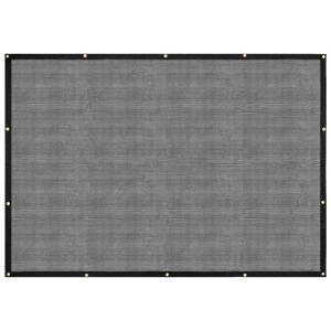vidaXL fekete HDPE konténerháló 3 x 5 m