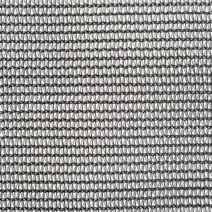 vidaXL fekete HDPE konténerháló 3,5 x 7 m