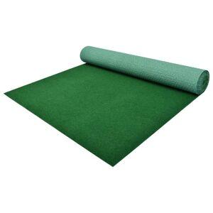 vidaXL zöld szegecses aljú PP műfű 3 x 1 m